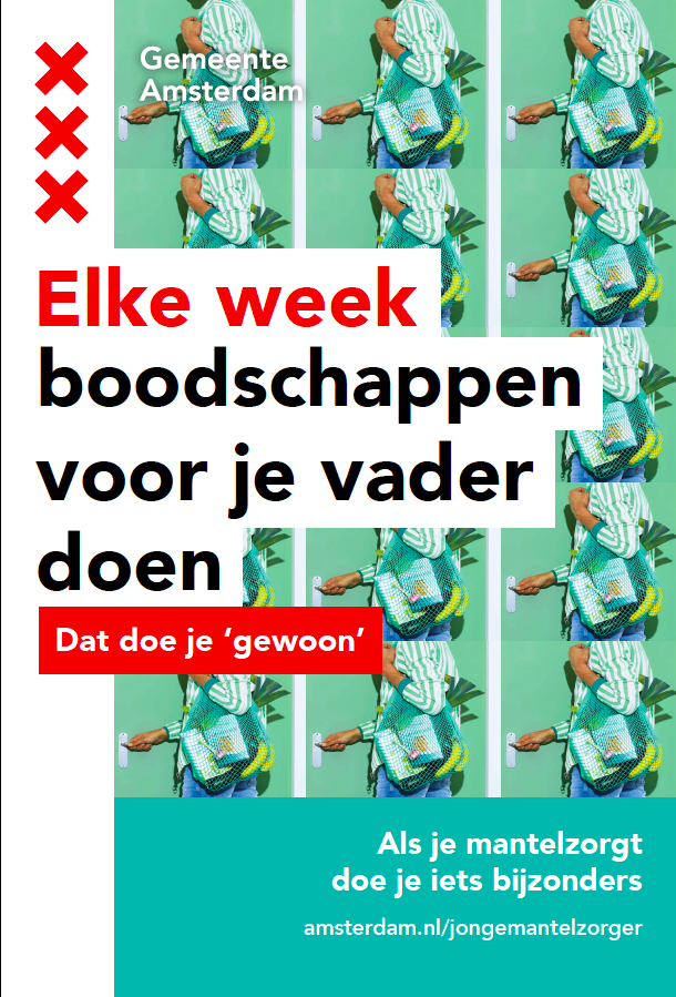 be15e6022a9 Ontwikkeling awareness campagne Gemeente Amsterdam rondom mantelzorg ...
